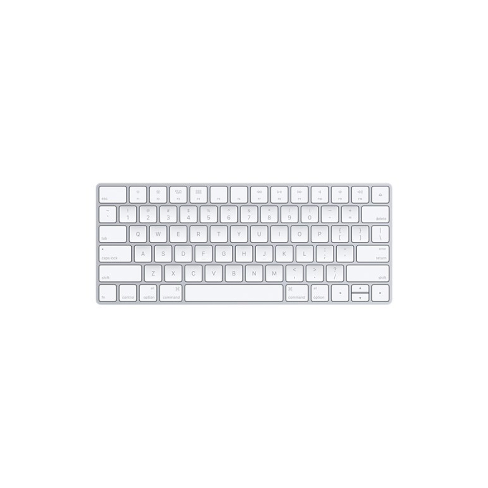 White Apple Magic Keyboard