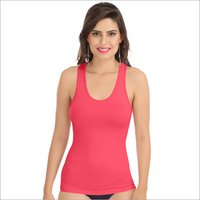 Carrot Red Racerback Camisole