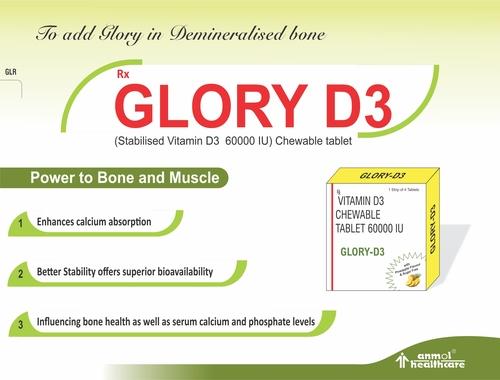 Stabilised Vitamin D3