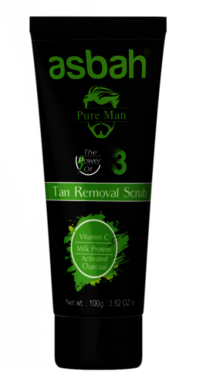Activated Charcoal Tan Removal Scrub