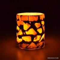 Seap Glass Candle Holder Traditional Indian Designer