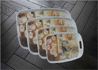Melamine Handle Tray