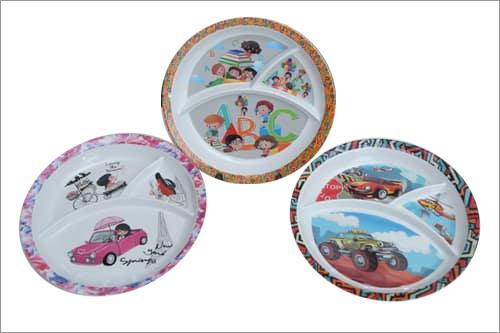 Round Kids Plate