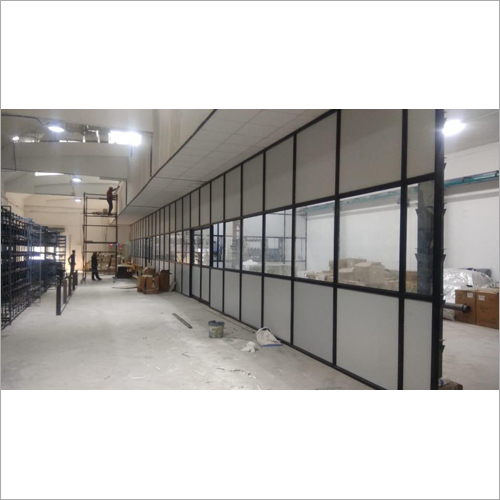 Aluminium Section Partition Work