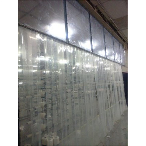 PVC Curtain Partition Work