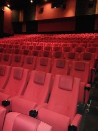 Multiplex cinema chair