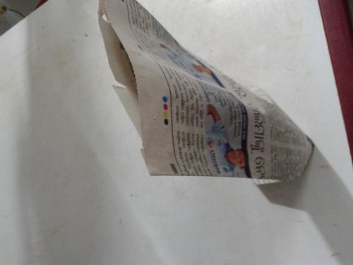 News paper bag