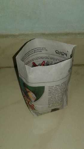 Waste News Paper Bag