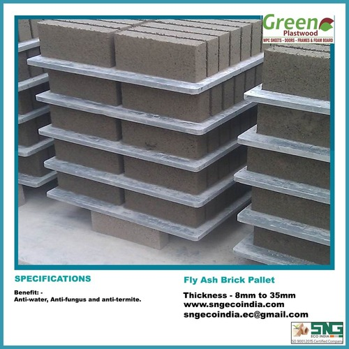 Fly Ash Brick Pallets