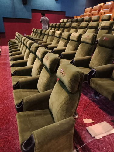 Cinema hall chairs
