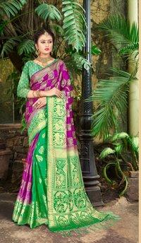 Wedding wear Art Silk Saree