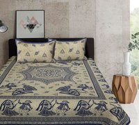 Jaipuri Block Print Bed Sheet