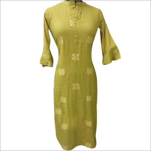 Ladies Casual Rayon Kurti