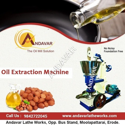 Cold Pressed Groundnut Oil Machine