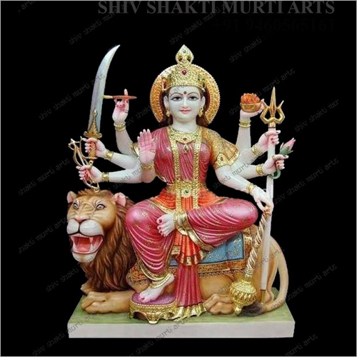 Marble Lord Durga Statue