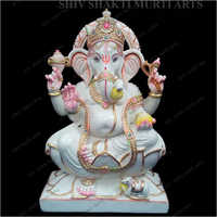 Lord Ganesha Polished Statue