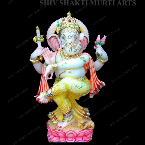 Decorative Marble Lord Ganesha Statue