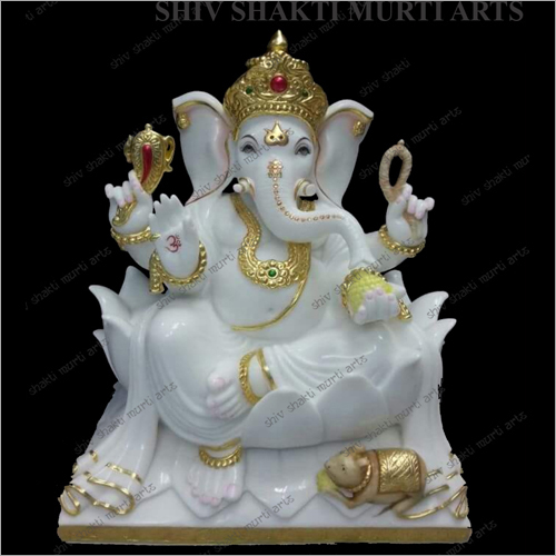 Designer Marble Lord Ganesh Statue