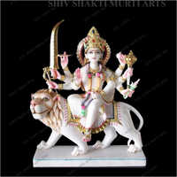 Marble Lord Devi Statue