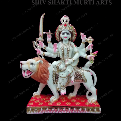 Decorative Marble Lord Mata Statue