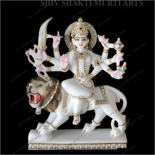 Marble Shakti Mata Statue