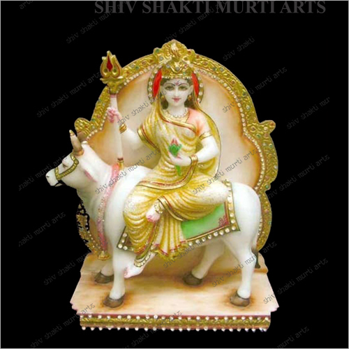 Marble Lord Saraswati Statue