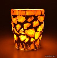MOTHER OF PULSE GLASS CANDLE VOTIVE