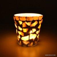 ANTIQUE LIGHTING T LIGHT GLASS VOTIVE