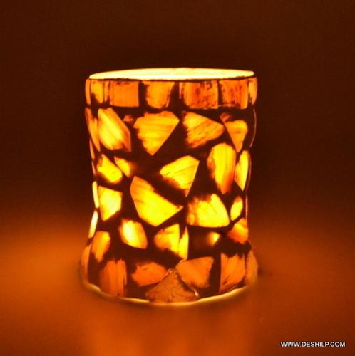 SEAP GLASS DECOR CANDLE VOTIVE