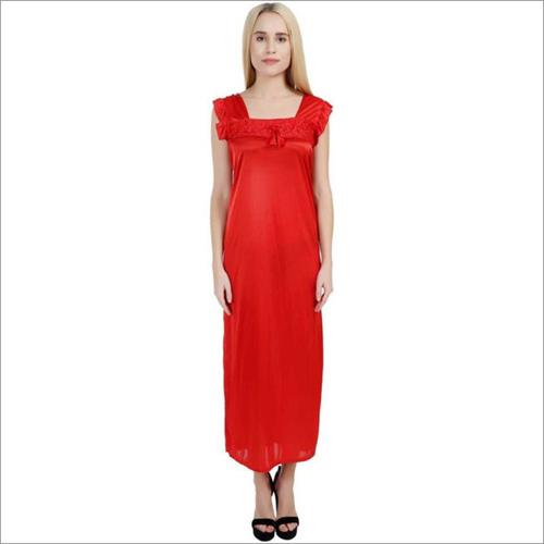 Women's Red Nighty