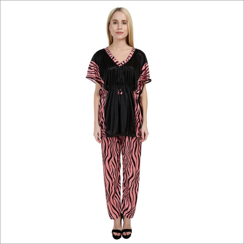 Women's Designer Kaftaani Night Suit