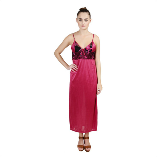 Designes Pink Nightdress