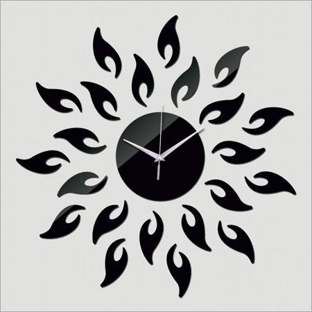 Acrylic Sun Wall Clock