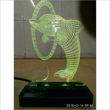 3D LED Dolphin