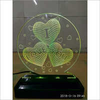 3D LED Heart Shape Lamp