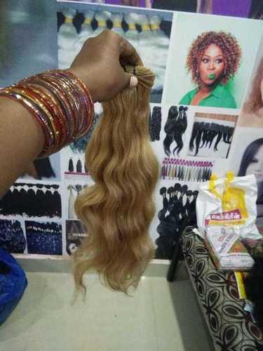 Blonde Wave Hair
