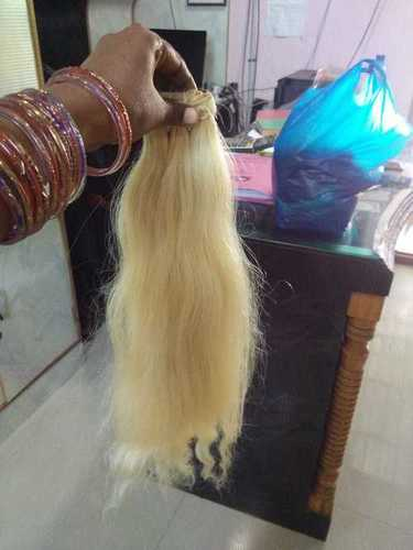 Blonde Straight Hair 8inch
