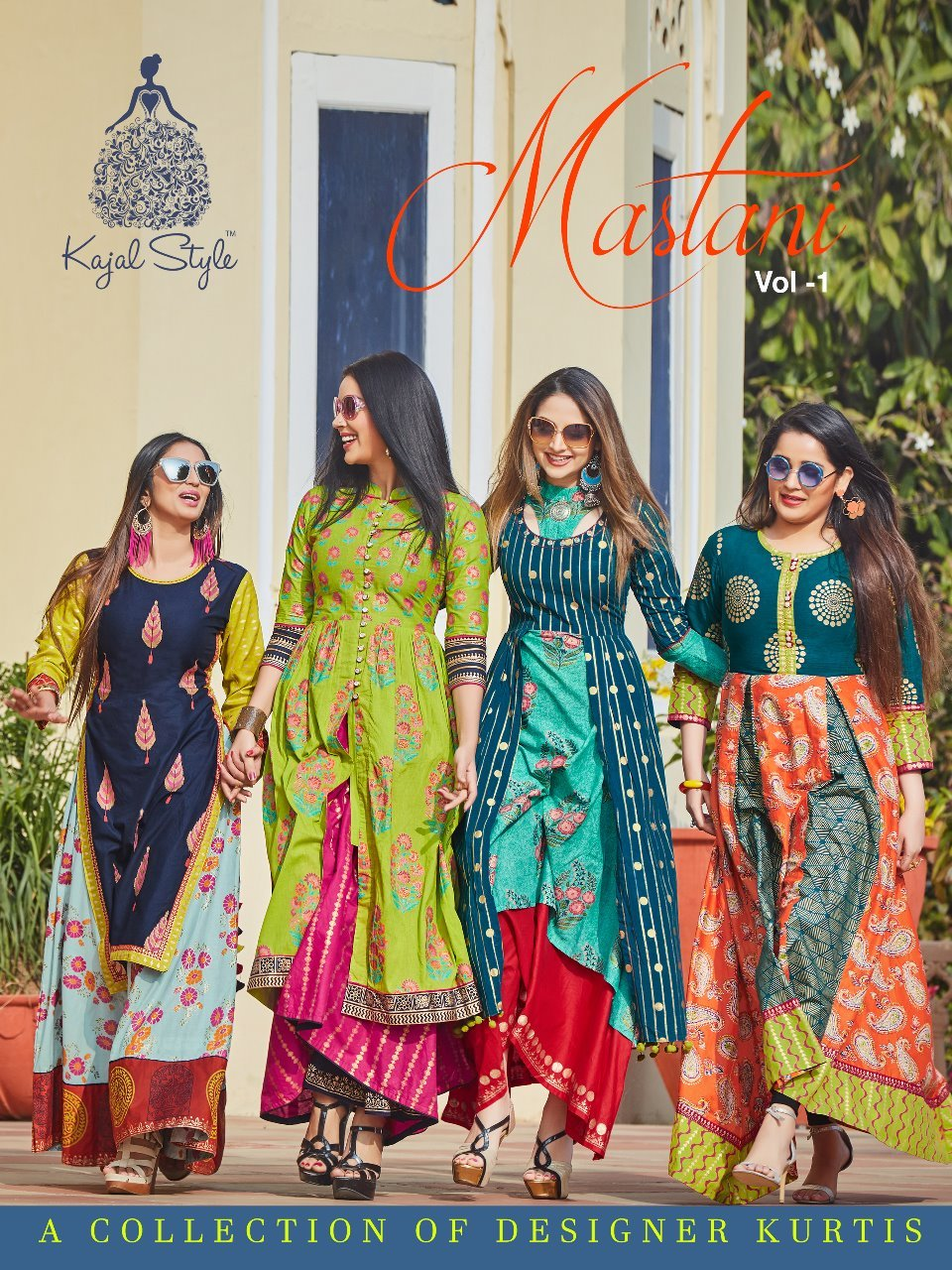 Ladies Printed Straight Suits