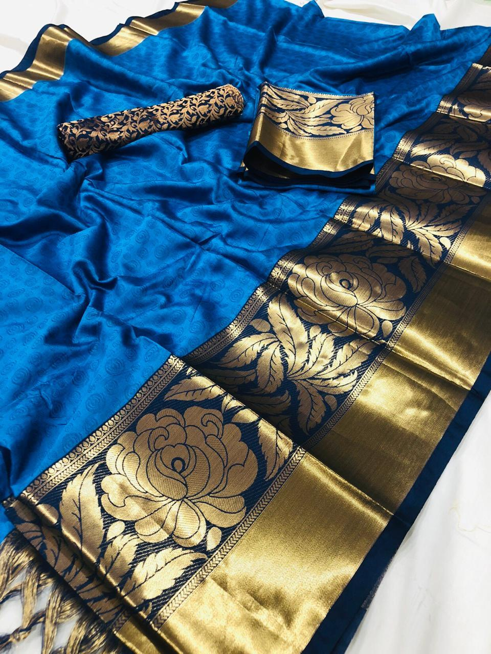 Traditional Cotton Silk Saree