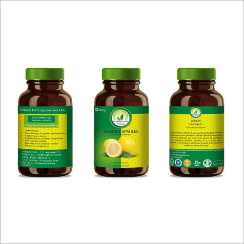 Lemon Capsules