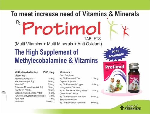 Multi Vitamins & Multi Minerals Tablets