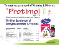 Multi Vitamins & Multi Minerals Tablets