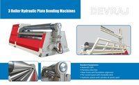 Three Roller Hydraulic Plate Bending Machine