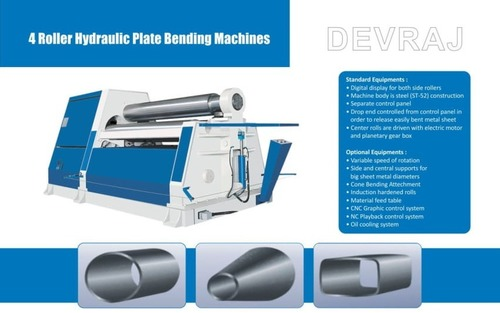 Four Roller Hydraulic Plate Bending Machine