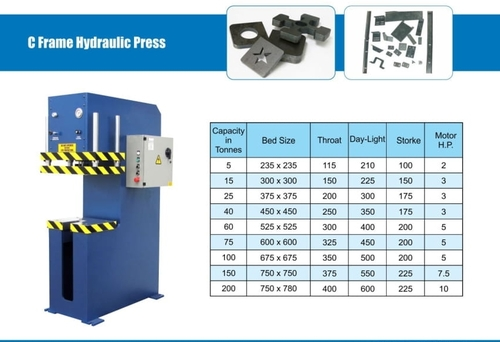 C Framre Hydraulic Press
