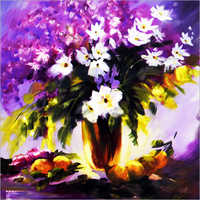 Flower Art Wall Decor Painting