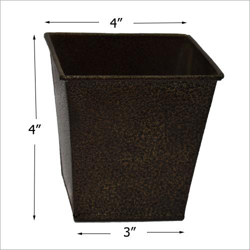 Metal Small Rectangular Planter