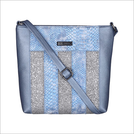 Animal Pattern Ziggy Ziggy Blue Sling Bag