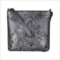 Animal Pattern Rock Black Sling Bag