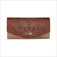 Ladies Tan Color Clutch